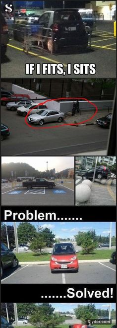10+ of The Most Hilarious Photos of People Who Suck At Parking