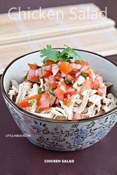 chicken salad. eatingpleasure.blogspot.