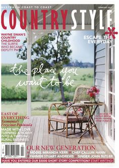 Country style magazine covers google search verandas for Victoria magazine low country style