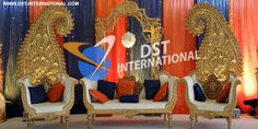 #Carry #Decoration #Wedding #Stage DST International manufactures and export all types of Carry Decoration Wedding Stage, Crystal Pillar Wedding Stage, Majestic Wedding Stage, Rajwada Theme Stage, Crystal Stage, Latest Wedding Stage, Munhall Theme Wedding Stage, Tusk Pillars Stages,