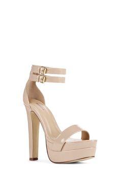 0803a85cd10 Chaussures Loni en Nude - Livraison gratuite sur JustFab Style Minimaliste