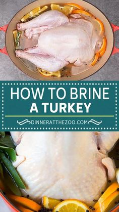 This is a complete guide on how to brine a turkey to get the most tender and flavorful bird each and every time. No holiday is complete without a turkey, and brining is the best method to ensure rave reviews! Turkey Recipes, Thanksgiving Recipes, Camembert Cheese, Beef, Dinner, Easy, Food, Meat, Dining