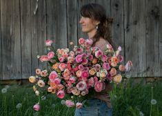 www.floramama.ca l Photo:Stéphane Cocke Nature, Floral Wreath, Wreaths, Decor, Buttercup, Most Beautiful Flowers, June, Decoration, Decorating