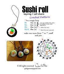 2000 Free Amigurumi Patterns: Sushi