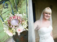 Beautiful brides and their blooms