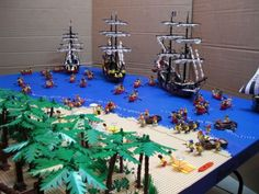 Pirates of the Bermuda Triangle: A LEGO® creation by Brian Darrow : MOCpages.com