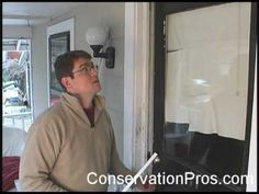 Watch this video to see how to correctly install weather stripping to an exterior door. Energy Saving Tips, Save Energy, Home Fix, Door Seals, Apartment Renovation, Home Repairs, Exterior Doors, Winter Garden, House In The Woods
