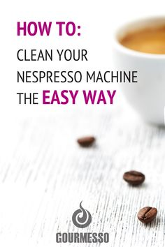Why use a cleaning capsule? Capsules remove bitter coffee oil residue from the brew chamber, exit spout, and nozzle. When this bitter residue is allowed to remain, it can actually alter the taste of the coffee. Learn More: read on the blog.  Nespresso Clean | Easy way to clean Nespresso Machine | How to Clean a Nespresso Machine | Coffee Capsules | Espresso machine cleaner | Fair Trade Coffee Brands | Compostable Coffee Pods | Compostable Coffee Capsules | Espresso Machine Cleaner, Espresso Machine Reviews, Best Espresso Machine, Coffee Tasting, Coffee Drinkers, Espresso At Home, Espresso Recipes, How To Make Ice Coffee, Nespresso Machine