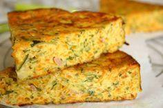 Recette moelleux carottes courgettes & jambon, cuisinez moelleux carottes courgettes & jambon