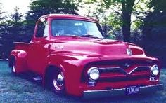 My Dad still has his old 55 ford sitting in the backyard. Hope to fix it up some day so it looks as good as this one.