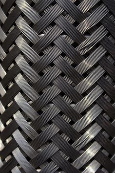 This piece shows pattern and texture because of the way the metal is weaved together. The metal also creates a pattern from light to dark in the weave, giving the piece visual appeal. Texture Metal, Texture Art, Textiles, Ps Wallpaper, 3d Models, 3d Prints, Fabric Manipulation, Grafik Design, Surface Pattern