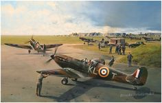 Hornchurch Scramble by Robert Taylor