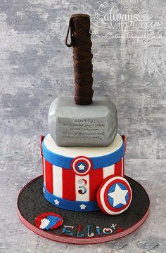 Captain America & Thor