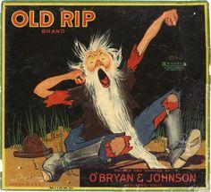 Old Rip Orange Crate Label Redlands | Collectors Weekly