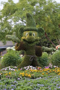 Mickey Mouse Epcot Flower and Garden Show Walt Disney World