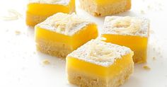 These are inspired by 'Pam' from TV's 'The Bold and the Beautiful' and her infamously good lemon bars.