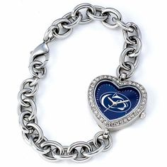 Penn State Nittany Lions NCAA Heart Series Womens Watch #PennState