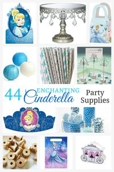 Enchanting Collection of Cinderella Party Supplies