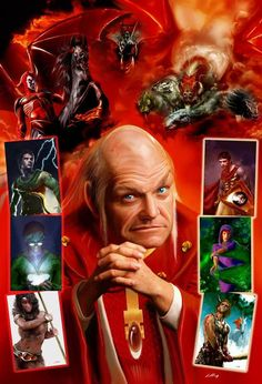 And Brian Dennehy as Dungeon Master…