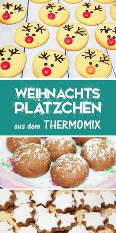 weihnachten liebe Christmas cookie recipes from the Thermomix. - Christmas time is cookie time :-] I think baking cookies is simply part of the run-up to Christmas. Best Christmas Cookies, Christmas Cupcakes, Christmas Desserts, Christmas Baking, Christmas Time, Biscuit Nutella, Nutella Cookies, No Bake Cookies, Chip Cookies