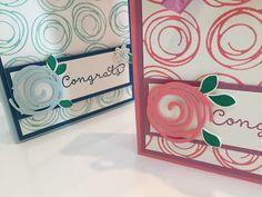 CraftyCarolineCreates: Swirly Bird Gift Bag Box - Video Tutorial using Stampin' Up UK products.