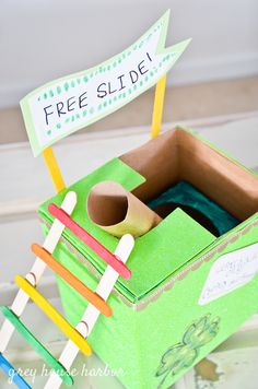Ideas for building Leprechaun Traps no matter how much time you have! Leprechaun Trap ideas for all craft abilities and ages! If you are looking to trap a Leprechaun this St. School Projects, Projects For Kids, Craft Projects, School Ideas, Craft Ideas, Fun Ideas, Holiday Crafts, Holiday Fun, Fun Crafts