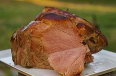 Easter, Smithfield Ham and getting tagged Easter Dishes, Easter Ham, Easter Food, Ham Recipes, Easter Recipes, Chicken Recipes, Turkey Dishes, Pork Dishes, Smithfield Ham