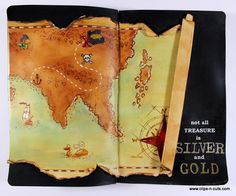 Art Journal | Treasure map