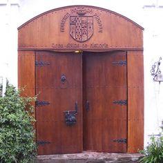 The Grand Entrance of the Hacienda Pinsaqui in Otavalo, Ecuador