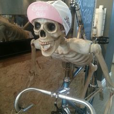 Love cycling to the bone