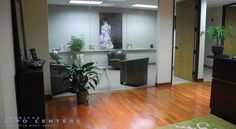 Comfortable office setting for your laser liposuction in Dallas TX by American Lipo Centers.