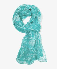Abstract Floral Scarf | FOREVER 21 - 1026909540