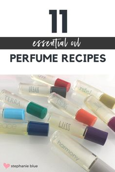 Perfume is such a personal and special thing, that when someone's perfume becomes the scent you associate with them, you could pick it out anywhere bringing a smile to your lips. But how about creating your own personal perfume unique to you? Our DIY Perfumes give you a range of ideas to go play with.