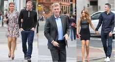 Wayne Rooney, David Moyes, and Robin van Persie arrive for the Manchester United bonding meal in Manchester. http://sulia.com/channel/soccer/f/f7984372-b871-46f1-a386-37efd28b37f4/?