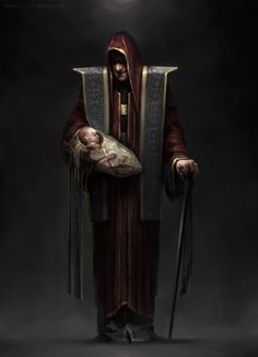 Warlock. King's advisor (Villians) by Ivan Dedov | Art | 2D | CGSociety  Ivan Dedov     Saint-Petersburg, Russia