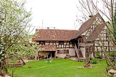 """La """"Maison d'Albert"""" en Alsace."""