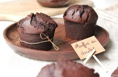 Le muffin au chocolat ultra moelleux