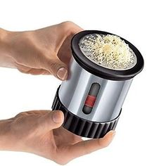 A mill that will make even cold butter spreadable. | 31 Things You Never Knew You Needed For Your Kitchen