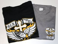 O.C.D. T-shirt with logo left chest and back | O.C.D. Obedient Christian Disciple Store