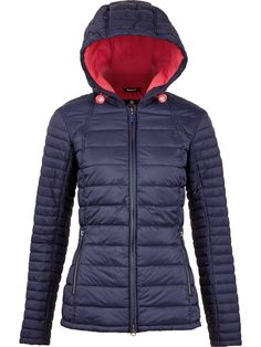 BARBOUR Landry Baffle Quilt Jacket - NavySize & Fit True to size - order…