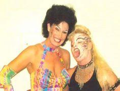 Female wrestling icons Sherri Martel  Luna Vachon l WWE Legends l RIP