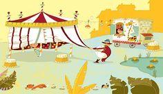 Cirque Rirenfolie by Huette Olivier, via Behance