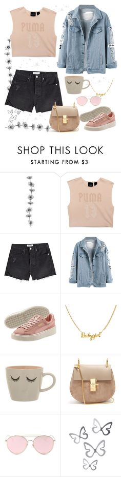 """ً"" by yossra6666 ❤ liked on Polyvore featuring Puma, Frame, Bloomingville, Chloé and LMNT"