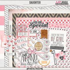 <p> Daughter - Mini Kit by Just Jaimee</p>