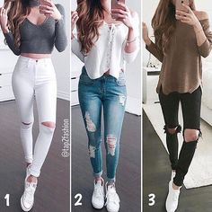 1, 2 OR 3!? ☂️ #Style #Pretty #Girl #Color Tag Your Friends!