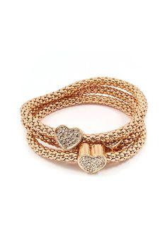 Dearest Love Bracelet in Gold #fk #fashionkiosk #jewellery
