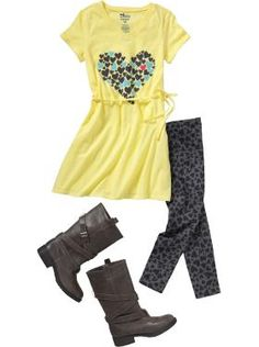 Claire Back to School: Girls Clothes: Complete Looks Outfits We Love New Teen Fashion, Preteen Fashion, Little Girl Fashion, Fashion 101, School Fashion, Kids Fashion, Fashion Outfits, Teenager Fashion, Cute Girl Outfits
