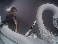 A Marc In Time...October 16th 1976 Marc's performance of Ride A White Swan for Supersonic is transmitted  Marc is stood within a giant swan as it moves around the stage The song was completely re- recorded for the show.