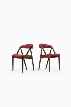 Kai Kristiansen dining chairs   Studio Schalling