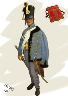 12th Hussars Field - Palatins